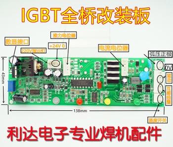 IGBT máquina de soldadura de un solo tubo Zx7-400 Panel de Control 315