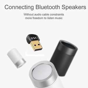 Image 5 - Kebidu מיני BT 5.0 מתאם USB Dongle אלחוטי USB Bluetooth משדר 5.0 מוסיקה מקלט Bluetooth מתאם עבור מחשב PC