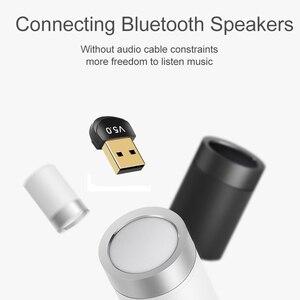 Image 5 - Kebidu Mini BT 5.0 Adapter USB Dongle Wireless USB Bluetooth Transmitter 5.0 Music Receiver Bluetooth Adapter For Computer PC