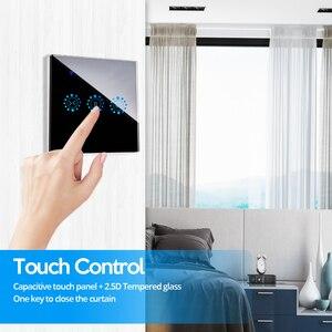Image 4 - 스마트 커튼 스위치 WiFi 롤러 셔터 스위치 음성 제어 Alexa eco와 호환 Google 홈 블라인드 롤러 셔터 스위치