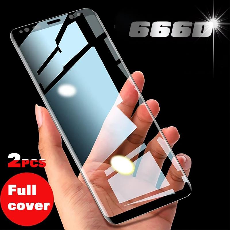 Для самсунга закаленное стекло экрана протектор Примечание 20 10 S20 S10 Plus Ultra Screen Protector S8 S9 Plus Note 8 9 S10E S10 5G 666D полное покрытие|Защитные стёкла и плёнки для телефонов|   | АлиЭкспресс