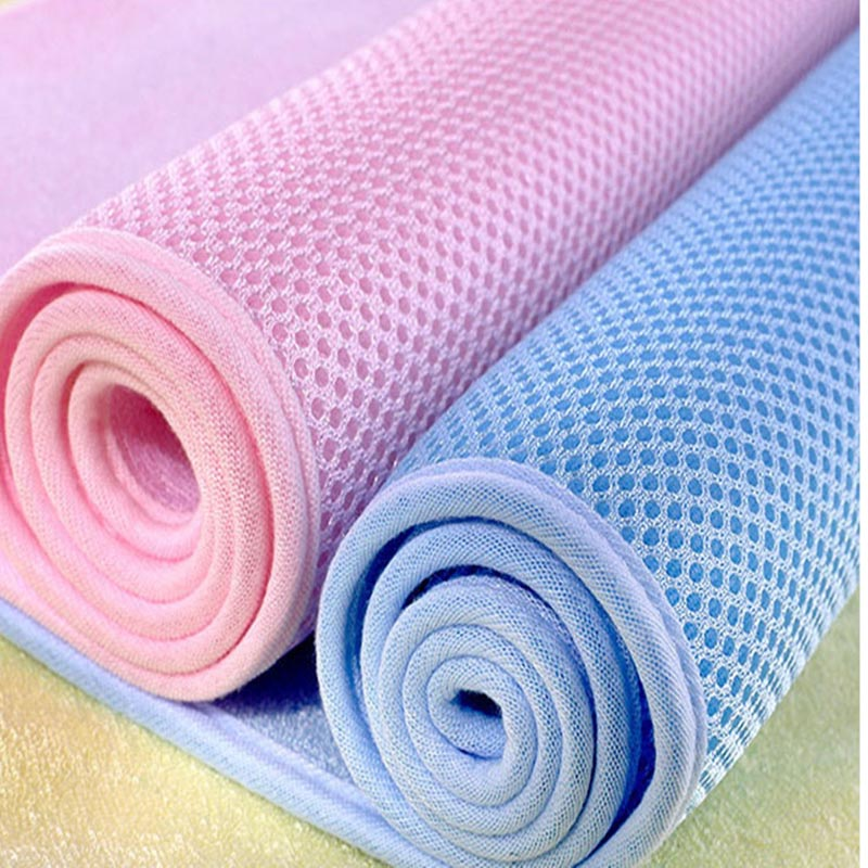 Bamboo Fiber Pad Baby Diaper Pad Three-layer Waterproof Girl Menses, Care Mat Baby Bedding Cloth Diaper Reusable Baby Urine Pad