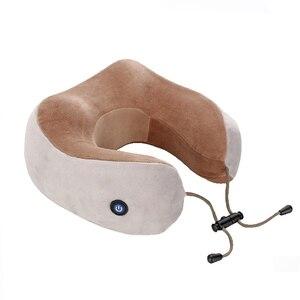 Image 5 - KIKI NEWGAIN almohada multifunción para masaje en forma de U, hombros y vértebra Cervical, coche eléctrico portátil para exteriores, cuidado de la salud