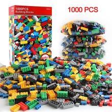 300/500/1000 Pieces DIY model Assembly Building Blocks Sets Creative Bricks Kids Educational Toys Children's Toys Blocks Gift