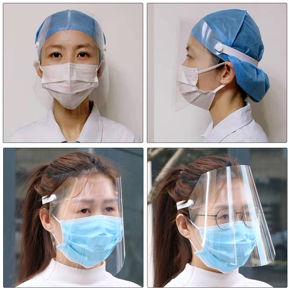 1Pc Clear Face Cover and Transparent Face Shield for Full Face and Eye Protection 7