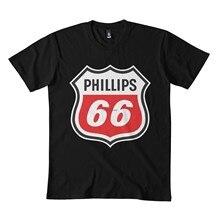 Phillips 66 clássico t camisa 173dmn sudadera con cuello redondo negro