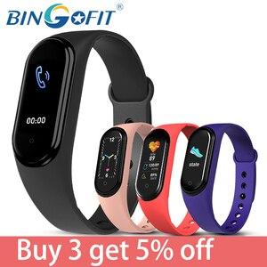 BingoFit Smart Band M5 Smart Bracelet IP67 Waterproof Smarthwatch Blood Pressure Fitness Tracker Smartband Fitness Wristbands