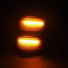 Switchback Белый/янтарный боковые зеркала для Ford F250, F350, F450, F550 светодиодный
