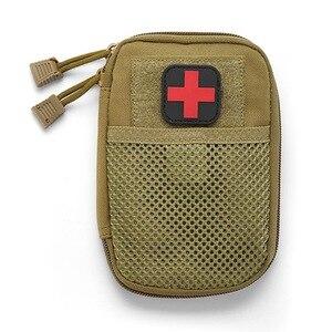 Image 5 - 야외 응급 처치 응급 의료 가방 의학 마약 알약 상자 홈 자동차 생존 키트 emerge 케이스 작은 900d 나일론 주머니
