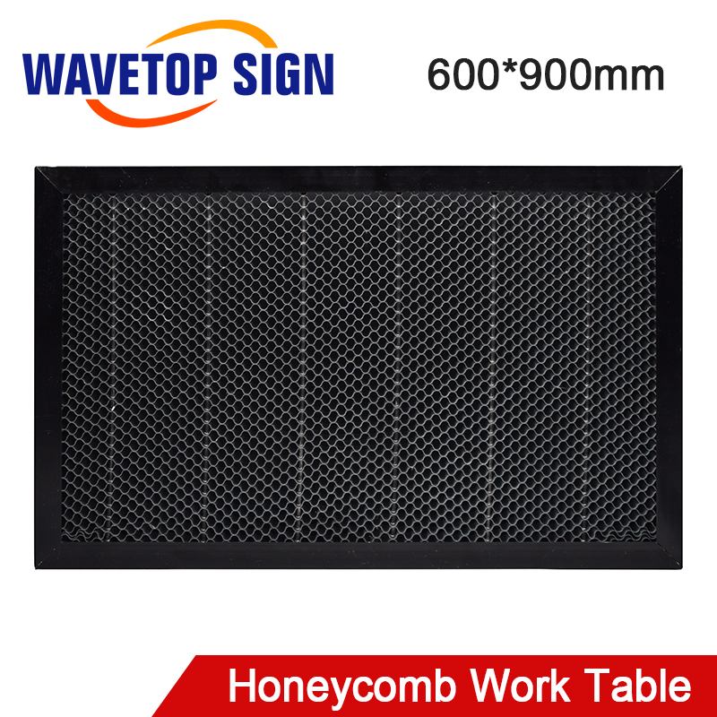 WaveTopSign Laser Honeycomb Working Table 600*900mm Size Board Platform Laser Parts For Co2 Laser Engraving And Cutting Machine