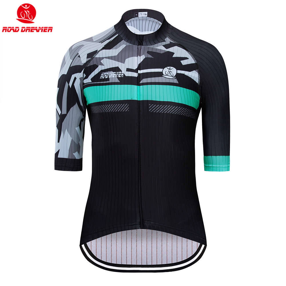 Cycling-Jersey Short-Sleeve Mountain-Bike Triathlon Maillot-Ciclismo Women New Green