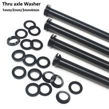 Thru Axle Washer Skewers Bicycle Hubs-Tube Shaft Flat/conical-Washer 3mm/4mm M12