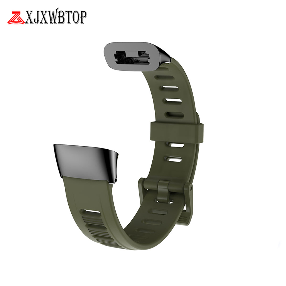 Replacement flat hole wrist band silicone Strap For <font><b>Huami</b></font> <font><b>Amazfit</b></font> <font><b>Cor</b></font> <font><b>2</b></font> Cor2 Smart Bracelet Strap for Xiaomi <font><b>Huami</b></font> <font><b>Amazfit</b></font> <font><b>Cor</b></font> <font><b>2</b></font> image