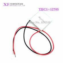 10ピース/ロットTEC1 12705熱電クーラーペルチェ12705 12v 5A細胞TEC12705 elementeモジュール最高の品質。