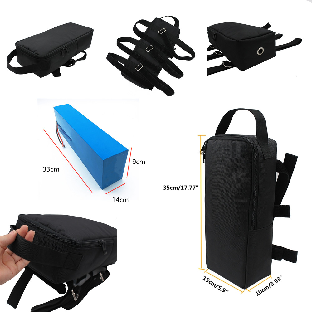 Electric Bike Scooter Bag Bicycle Rear Ebike  Battery storage 35cm 57cm Cycling