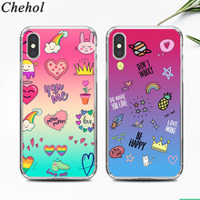 Luxury Graffiti Mobile Phone Cases for IPhone 11 8 7 6s Plus Pro X XS MAX XR Funny Case Soft Silicone TPU Back Cover Accessories