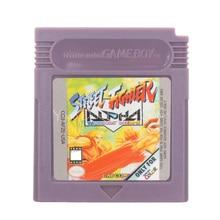 Cartucho de videojuegos para Nintendo GBC, tarjeta de consola StreeFighter Alpha Warriorss Dreams, versión en inglés