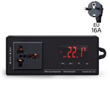 2020 nouveau 16A AC-112 sortie Thermostat pour animaux de compagnie régulateur de température numérique chauffe-Aquarium