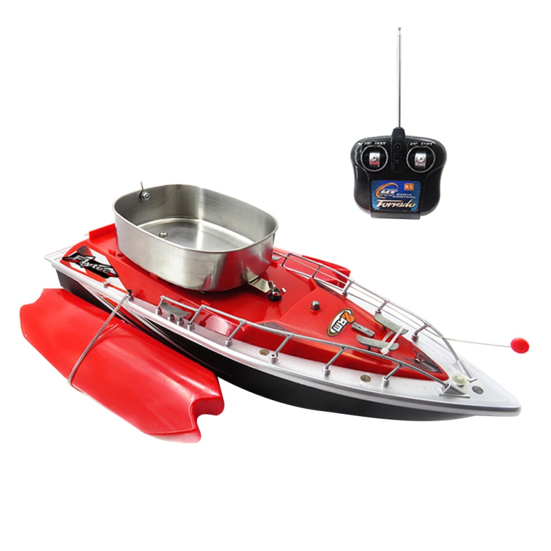 New Arrival Bait Boat 3 Colors Toy Fish Finder Rc Fishing Boat Rc Lure Boat For Fishing Wireless Remote Control Boat Tools