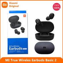 Xiaomi Redmi AirDots S 2 5.0 TWS Bluetooth 5.0 Earphone MI True Wireless Earbuds Basic 2 Gaming Mode Automatic Link AI Control