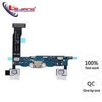 Original USB Ladegerät Für Samsung Note 4 N910F N910P N910T N910C Lade-Port Dock Connector Home Taste Mikrofon Flex Kabel