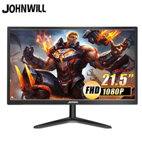 21.5 Inch LCD Monitor LED FHD 1080P Screen 19 Inch HDMI VGA Gaming Monitor PC For PS3 PS4 Box Switch Raspberry Pi 16: 9 Johnwill