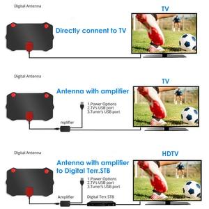Image 2 - Kebidumei 1080P Indoor Digital TV Antenne HD HDTV Antena DVB T/T2 DVB T/T2 DVBT2 Kabel TV antena UHF VHF DTV Antennen Luft