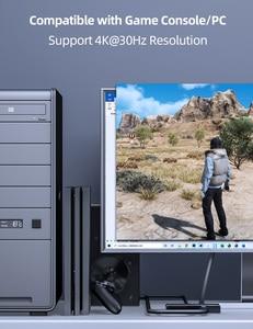 Image 5 - Преобразователь аудио Unnlink HDMI UHD4K @ 30 HIFI 5.1ch SPDIF оптический Toslink RCA UHD4K для Chromecast Fire TV Stick Box Roku