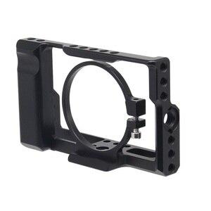 Image 1 - עבור Sony RX100M3/RX100M4/RX100M5 מצלמה כלוב עבור Sony RX100 III/IV/V M3/M4 /M5 Pro DSLR מצלמה כלוב מצלמה Rig קר נעל