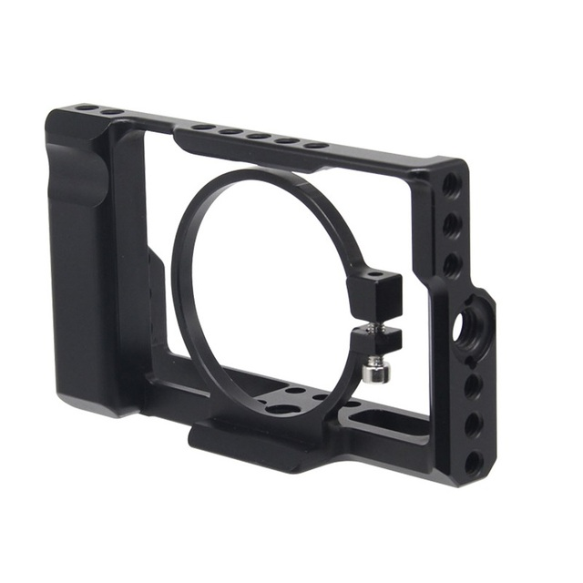 עבור Sony RX100M3/RX100M4/RX100M5 מצלמה כלוב עבור Sony RX100 III/IV/V M3/M4 /M5 Pro DSLR מצלמה כלוב מצלמה Rig קר נעל