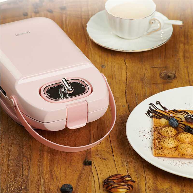 EL-3003A 700W desayuno eléctrico Waffles fabricante Mini hierro sándwich máquina burbuja huevo pastel horno cocina herramientas de cocina - 5