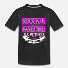 Men t shirt Social Worker Profession Job Title(14) tshirts Women t shirt(China)