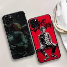 Black Joker Phone Case For iphone 5s 6 7 8 11 12 plus xsmax xr pro mini se Cover Fundas Coque