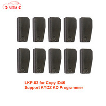 original 10pcs/lot LKP03 transponder chip can clone 46 chip via for KD X2