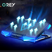 Laptop Cooler Notebook Cooling-Pad Gaming Portable PC USB Dual with Fan for Macbook-Stand