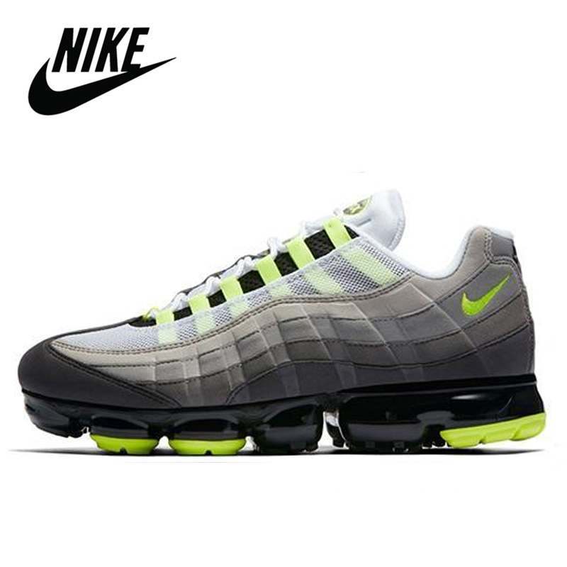 <font><b>Nike</b></font> <font><b>Air</b></font> Max <font><b>95</b></font> OG Neon Official Running Shoes for <font><b>Men</b></font> Original Breathable Outdoor Sports Jogging Comfortable size 40-45 image