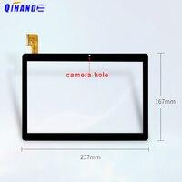 Novo 10.1 inch inch polegada tela de toque DH-10161A1-PG-FPC418-V2.0 zs tablet pc tp painel digitador CH-10161A1-PG-FPC418 /FPC-WYY101007-V0
