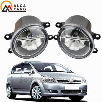 LED światła przeciwmgielne dla Toyota Corolla dla Toyota Verso 2003-2014 światła przeciwmgielne reflektory lampy przeciwmgielne reflektorów dla Camry Ractis światła przeciwmgielne tanie i dobre opinie Malcayang CN (pochodzenie) Montaż Lamp przeciwmgielnych 35502-57L01 35501-57L00 SC2592100 116-50131L High temperature resistant plastic + Glass