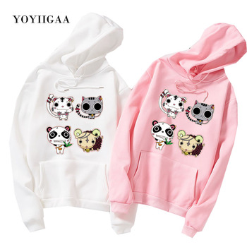 Autumn Winter Sweatshirt Women's Hoody Long Sleeve Women Hoodies Hooded Harajuku Printed Woman Pullover Tops for Female Clothes autumn winter women fashion hoody sweatshirt harajuku women hoodies hooded loose long sleeve lady hoodie casual female pullover