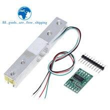 Capteur de poids de Module de la cellule de charge 1KG 5KG 10KG 20KG HX711 AD capteur de poids balance électronique capteur de pression de pesage en alliage d'aluminium pour Arduino