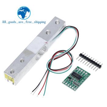 TZT cyfrowy czujnik masy 1KG 5KG 10KG 20KG przenośna elektroniczna waga kuchenna + HX711 czujniki wagowe moduł Ad tanie i dobre opinie CN (pochodzenie) Czujnik ciśnienia Metal Czujnik drgań Przełączania przetwornika Czujnik ultradźwiękowy Digital Load Cell Weight Sensor