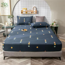 Bed-Sheet No-Pillowcase Queen-Size Flower-Printed King Sabanas-De-Cama Bonenjoy Cotton