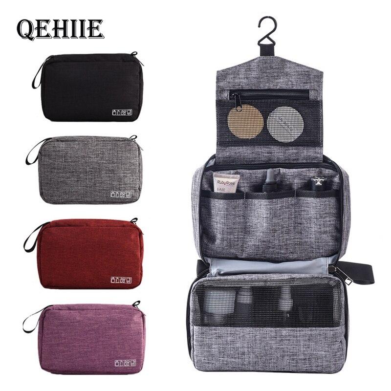 New Hanging Travel Make Up Bag Hanging Cosmetic Bags Waterproof Large Travel Beauty Cosmetic Bag Personal Hygiene Bag Organizer