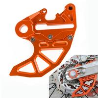 Rear Brake Disc Guard For KTM 125 150 200 250 300 350 450 500 530 SX SXF EXC EXCF XC XCF XCFW XCW 2017 2018 2019 20mm 25mm Axle