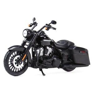 Image 2 - Maisto 1:12 2017 Road King Speclal döküm araçları koleksiyon hobiler motosiklet Model oyuncaklar
