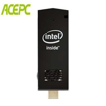 W5 Pro MINI PC Intel atom Z8350 Micro PC Computer Quad Core 1.44GHz WiFi2.4G&5G 4K Bluetooth 4.0 PC Stick Mini Computer Win10