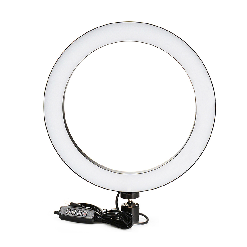 <font><b>16</b></font>/26cm Selfie LED <font><b>Ring</b></font> <font><b>Light</b></font> Dimmable Studio Camera Phone Photography Video LED Lamp Fill <font><b>Light</b></font> for Makeup Live Studio youtube image