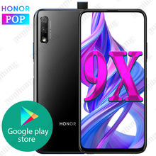 Honor 9x Smart Phone 6GB 64GB Kirin 810 Octa Core 6.59 inch Lifting Full Screen 48MP Dual Cameras 4000mAh GPU Turbo Mobile Phone