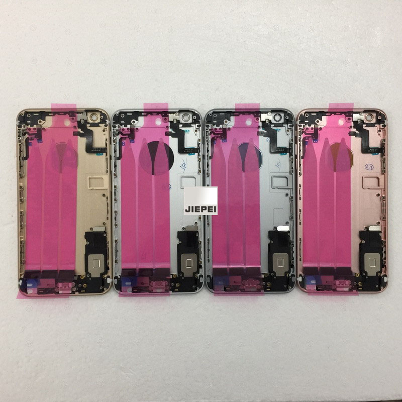 JIEPEI Assembly iPhone 6s Full-Housing Chassis Battery-Cover Door Rear Plus for Back-Middle-Frame