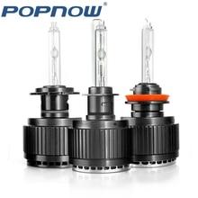 Popnow DC 35W HID xenon kit H1 H3 H4 H7 H11 9005 9006 9012 car headlight plug-n-play xenon bulb 6000K xenon H7 Lamp Car Light